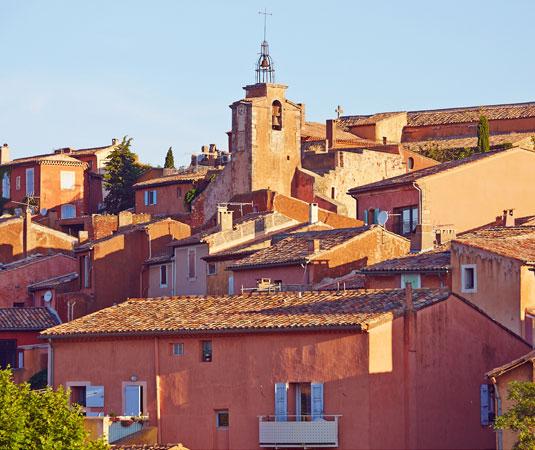 Village de Roussilon en Luberon @ Coquard M.