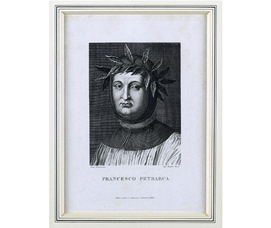 Portrait de Pétrarque @ Musée Pétrarque