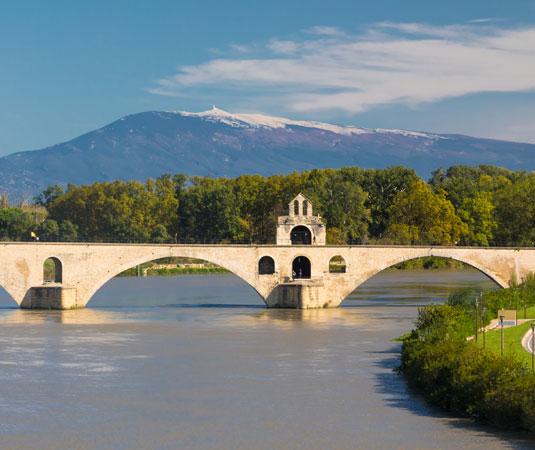 Pont d'Avignon et Mont Ventoux @ Kessler G.