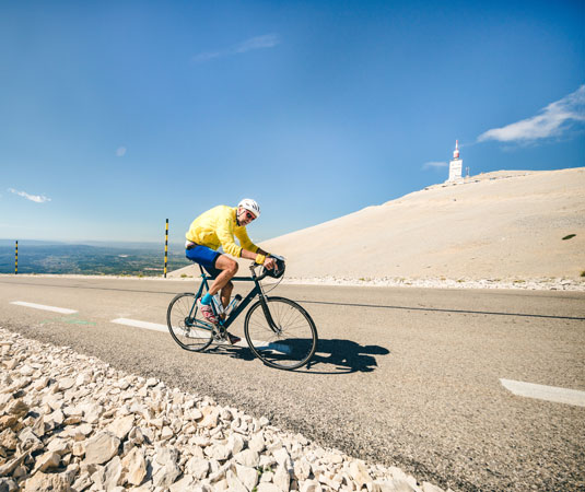 Ascension du Ventoux à vélo @ O'Brien T.